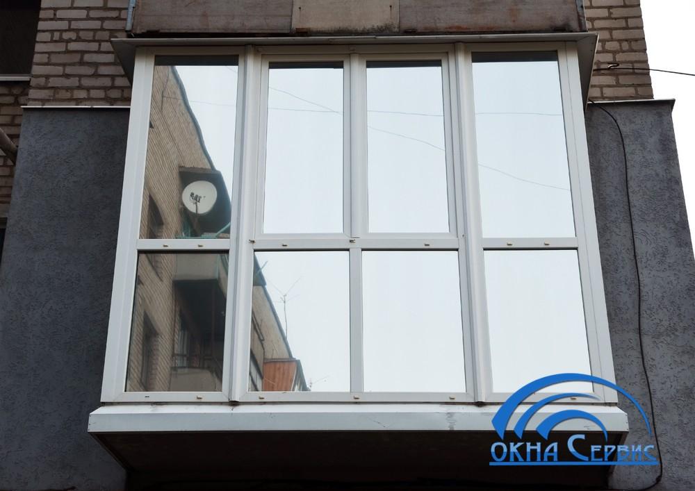 Балконы под ключ в рассрочку от магазина в кривом роге андре.